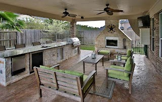 Outdoor Kitchen Area 37 Ideas Designs Picture Gallery Designing Idea