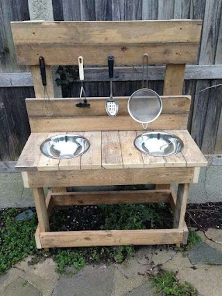 Primitive Outdoor Kitchen S Living