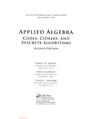 1420071424 {BDDA1BCB} Applied Algebra_ Codes, Ciphers, and Discrete Algorithms (2nd ed.) [Hardy, Richman _ Walker 2009-02-17].pdf