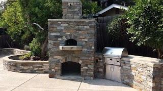 Outdoor Kitchen Pizza Oven Custom Design Sacramento Ca