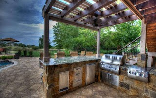 Outdoor Kitchens Kansas City Living Backyard By Design
