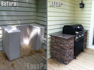 Inexpensive Outdoor Kitchen Cheap Ideas Hgtv Modern Garden on Deck