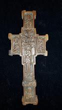Cruce din lemn sculptat Athos