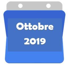Ottobre 2019 bis!