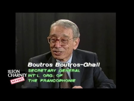 Boutros Boutros-Ghali, Dina Porat and Charney Resolution Talk Life Jacket (Edited Episode 2/28/2016 with content from 6/27/1999)