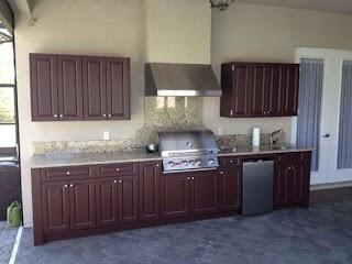Polymer Cabinets for Outdoor Kitchens 17 Kitchen Kitchen