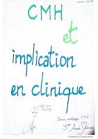 3_CMH et implication en clinique resumé.pdf