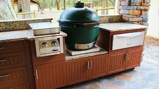 Outdoor Kitchens Naples Fl Weatherproof Polymer Cabinetry in Southwest Orida Kitchen