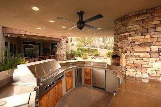 Outdoor Kitchen Phoenix Traditional Patio By Mccaleb