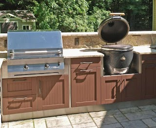 Lowes Outdoor Kitchen Appliances Outside Built in Grill Outside