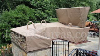 Custom Outdoor Kitchen Covers Fabricated