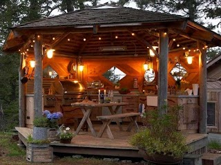 Rustic Outdoor Kitchens 95 Cool Kitchen Designs Home Decor Design