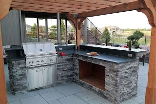 Outdoor Kitchens Kansas City By High Prairie Landscape Group
