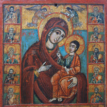 "Icoana greceasca ""Maica Domnului si Proorocii"", sec al XVIII-lea - 169 - poza 2 - Galeria Anton"