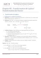 Cours Complet sur la Transformation de Laplace et Transformation de Fourier Essat.pdf