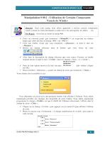 02 - Élements De Base - Manipulation WinDev.pdf