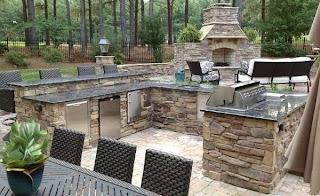 Outdoor Kitchen Stone Veneer Selex
