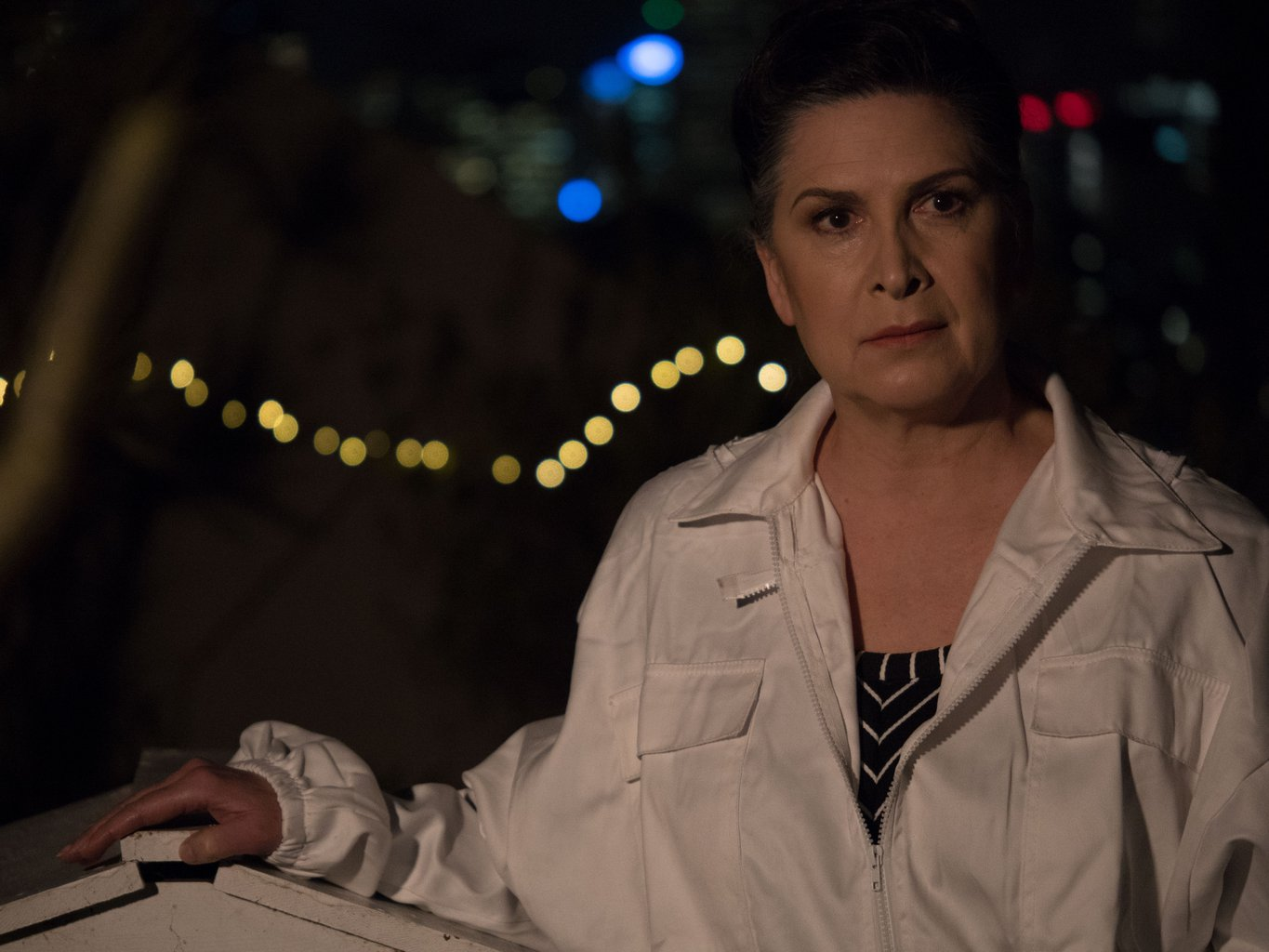 Pamela Rabe in The Beehive