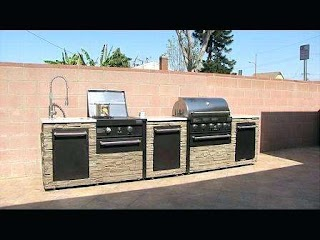 Grand Cafe Outdoor Kitchen Costco Medium Size of Island Grill Parts