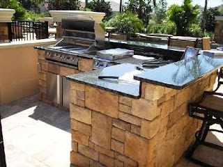 Paradise Outdoor Kitchen Backyard Living Specialists
