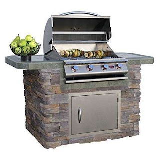 Cal Flame Outdoor Kitchen Amazoncom Island Lbk601as with 4