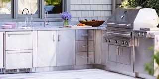 Stainless Steel Outdoor Kitchen Cabinets Eva Furniture
