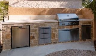 Limestone Outdoor Kitchen Ember Ember S Austin