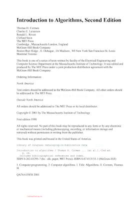 0070131511 {3E50F69A} Introduction to Algorithms (2nd ed.) [Cormen, Leiserson, Rivest _ Stein 2001-07-16].pdf