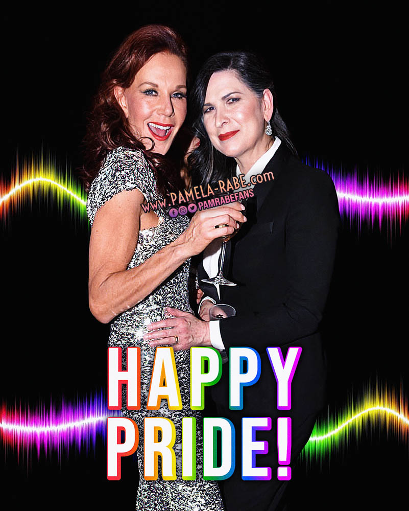 Pamela Rabe & Rhonda Burchmore HAPPY PRIDE
