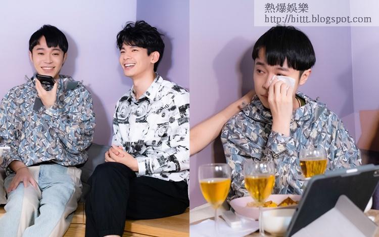 《太空人》MV男主角林柏宏拍攝時撞崩牙,吳青峰對好友力撐感動落淚。