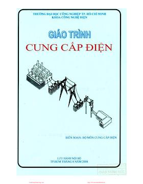 ĐHCN.Giáo Trình Cung Cấp Điện - Nhiều Tác Giả, 171 Trang.pdf