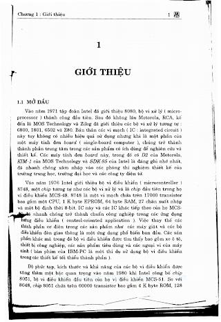 Họ Vi Điều Khiển 8051 - Tống Văn On, 252 Trang.pdf