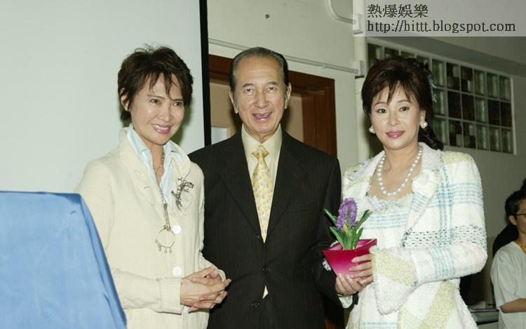 蕭芳芳指賭王與三太多年來對護苗基金的支持沒話說。
