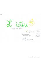 L_ictère resumé.pdf