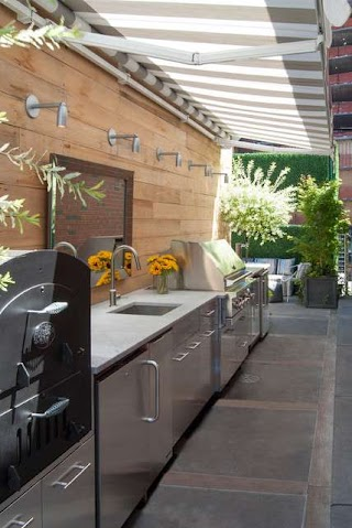 Houzz Outdoor Kitchens My a Basketball Court a Rooftop Kitchen and More In