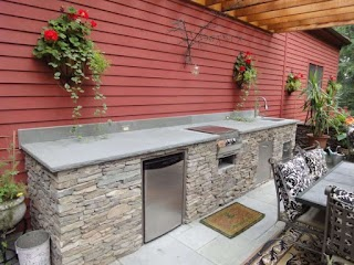 Outdoor Kitchen Frames Kits Frame Edselownerscom Ideas for Your New