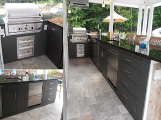 Outdoor Kitchen Cabinets and More The New Way Home Decor
