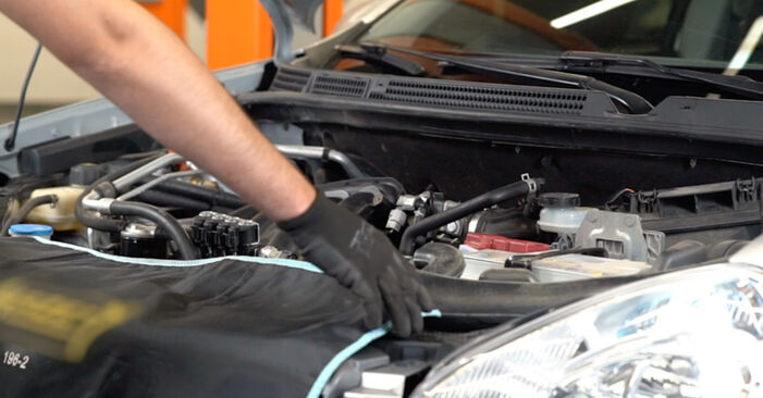 Changing of Spark Plug on Nissan Qashqai j10 won't be an issue if you follow this illustrated step-by-step guide