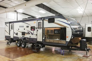 Bunkhouse Travel Trailers with Outdoor Kitchens New 2018 30fbss Front Slideout Trailer