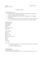 Examen ARCHI + Correction (Janvier 2010).pdf