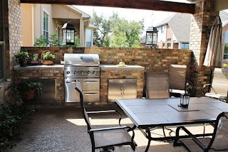 Texas Outdoor Kitchen Landscape Gallery Trinity Living