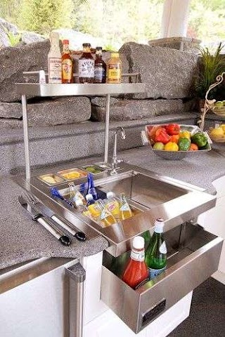 Outdoor Kitchen Gifts No Is Complete Without Addon Appliances And