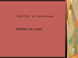 CHAPITRE VI cours chimie.ppt