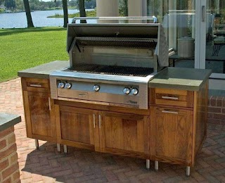 Teak Outdoor Kitchen Cabinets Bar Cabinet Lift for Flat Screens Wefreeonline