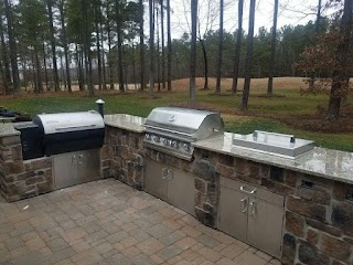 Outdoor Kitchen Smoker Plans Project Complete Traeger and Grill Our