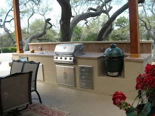 Outdoor Kitchens Texas Custom Kitchen Design Austin Southern Landscape
