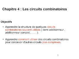chaptire 4 circuits combinatoires.ppt