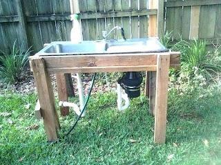 Outdoor Kitchen Sink Drain Dkoralco