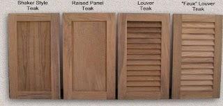 Doors for Outdoor Kitchen Custom Teak Marine Woodwork