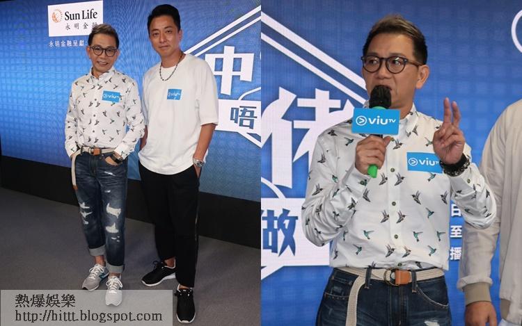 袁富華透露跟張松枝因拍電影《廉政風雲 煙幕》成為好友,二人更經常傾中佬心事。